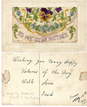 Postcard To Mother - Click to open